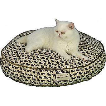Almohadilla de cama Armarkat Cat de 24 pulgadas por material de lona de 6 pulgadas