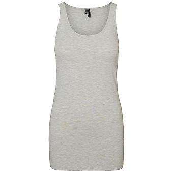 Vero Moda Femmes Maxi My Soft Tank Top Sleeveless Scoop Neck Long Blouse