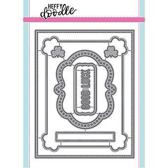 Heffy Doodle Clover Frames Dies