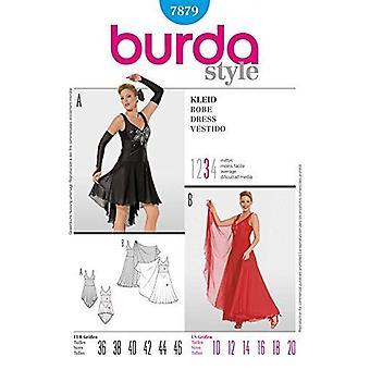 Burda Ladies Couture Pattern 7879 - Misss Dance wear Dress Tailles: 10-20
