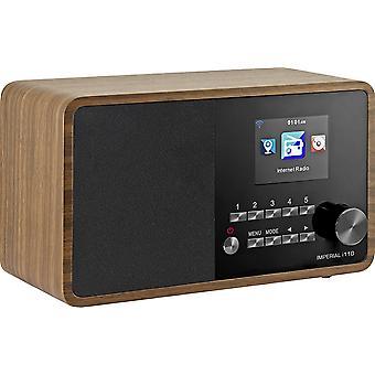 HanFei 22-320-00 i110 Internetradio (TFT Farbdisplay, WLAN, Line-Out, Netzteil) braun