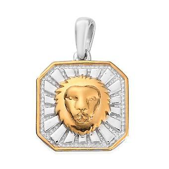 TJC Peridot Zodiac Pendant for Women in Sterling Silver 0.03ct