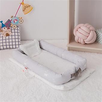 Pare-chocs de sommeil de lit d'enfant, garniture portative portable de protection de lit de lit dormant, dessin animé