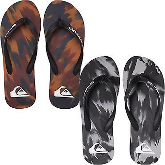 Quiksilver Mens Molokai Marled Sommer Beach Basseng Sandaler Thongs Flip Flops