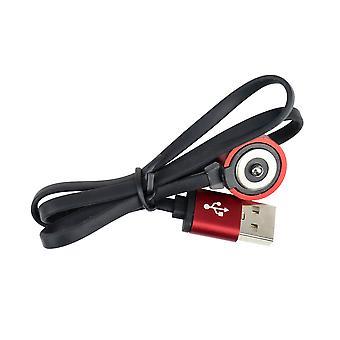 """כבל USB לטעינת פנסי PNI Adventure F75, עם מגע מגנטי, אורך 50 ס""""מ"""
