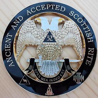 32 Graad oud en goedgekeurd Schots riteautoembleem