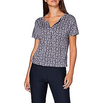 Marc O'Polo 16211551293 T-Shirt, Multicolor (Multi/Silent Sea A20), X-Small Woman