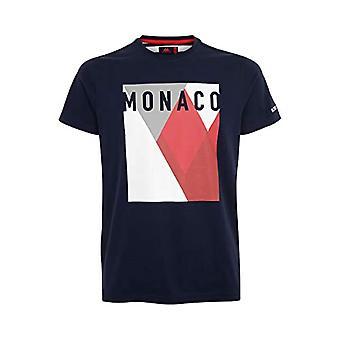 Kappa AURELIEN Herren T-Shirt Blau/Weiß/Rot