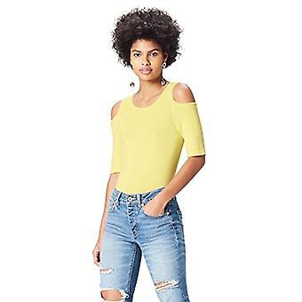 find. Cold Shoulder Women's Sweatshirt, Yellow (Lemonade), 52 (Size Manufacturer: XXX-Large)