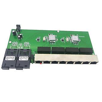 光メディアコンバータシングルモードファイバーポートボード