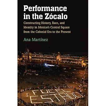 Performance no Zocalo por Ana Martinez