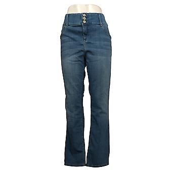 Laurie Felt Women's Jeans Regular Silky Denim Straight Leg Blue A343604