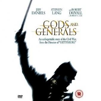 Gods and Generals DVD