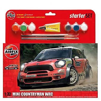Airfix MINI Countryman WRC Käynnistyssarja 1:32