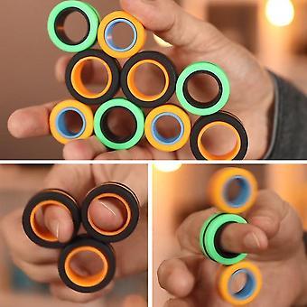 Fingears magnetiske ringe Anti-stress magnetiske ringe