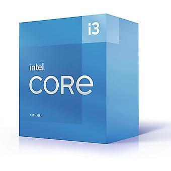 Intel Core I3-10105 CPU, 1200, 3,7 GHz (4,4 Turbo), firekjerners, 65 W, 14 nm, 6 MB cache, oppdatering av Comet Lake