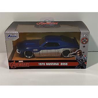 Vintersoldat Avengers 1970 Mustang Boss 1:32 Skala Jada 31745