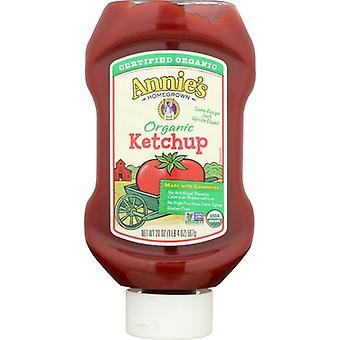 Annie's Homegrown Ketchup Upside Dwn Org, Case of 12 X 20 Oz