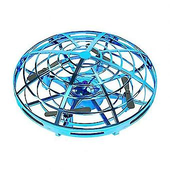 Mini Induction Hand Flying Aircraft 4 Axiss Induction Flying Aircraft Toy LED Lighting Electronic
