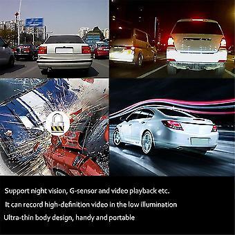 1080p Ultra-cienkie lusterko wsteczne Dash Vehicle Car Camera Video Recorder