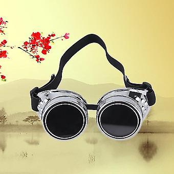 Cyber Beskyttelsesbriller Steampunk Briller Vintage Retro Svejsning Punk gotiske victorianske