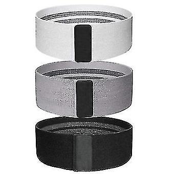 Jooga fitness elastinen nauha, lonkka hissi vastus nauha, jännitysnauha (Dark Gray)