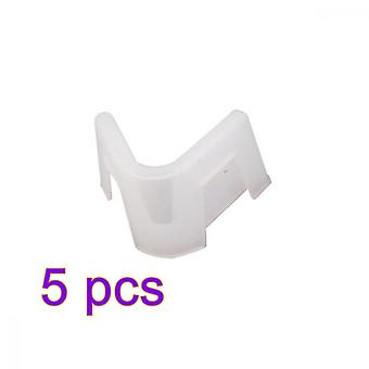 Homemiyn 5 Pcs Anti Fog Nose Clip For Mouth Protection Face Mask,3x1.7cm