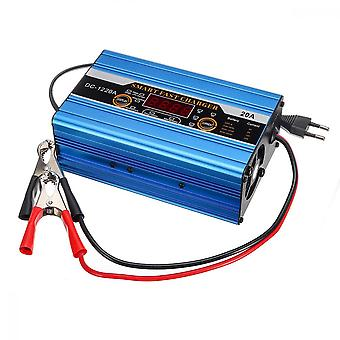 12v 20a Battery Lead-acid 20ah To 200ah Smart Charger Lcd Display