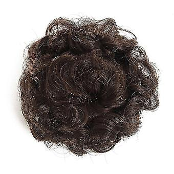 Synthetic Chignon Hair Bun Wig Hairpin