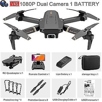V4 rc drone 4k hd cámara gran angular 1080p wifi fpv drone cámara dual quadcopter en tiempo real