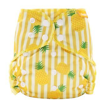 Happy Bamboo Katoen Overnight Cloth Diaper Night Gebruik Zware Nattere Baby Luiers