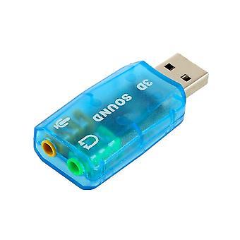 3d Audio Card Usb Adapter