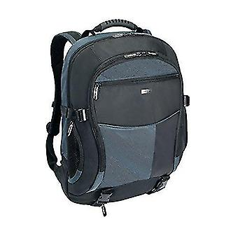 Computer covers skins atmosphere xl laptop computer backpack fits 17-18inch laptops  black/blue