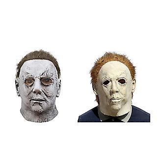 Halloween paniikki Michael-myers Cosplay Naamio Päähineet Puku Naamiot