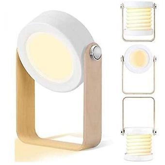 Lampe de table Led Lampe de chevet, lanterne de nuit Vintage Touch Dimmable, lanterne portable pliable lampe de chevet légère