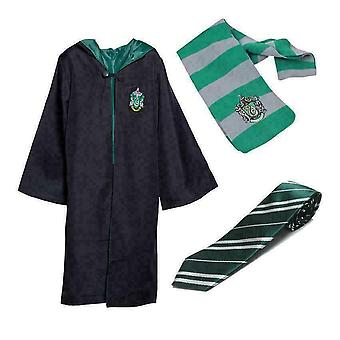 Harry Potter Cosplay Kostym Unisex Vuxen/barn Gryffindor Robe Cloak
