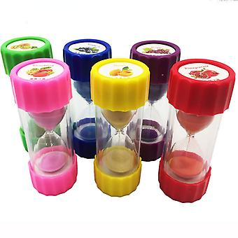 Creative Fruit Hourglass 1 / 3 / 5 / 10 Minutes Restaurant Timer Kitchen Timer Plastic Fall Proof
