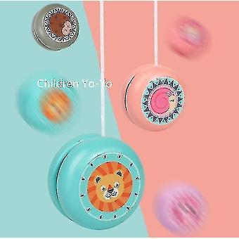 Fa állat minta Yo-yo Thread Control Születésnapi Farsangi Gyermekdíj Ajándék 6 db