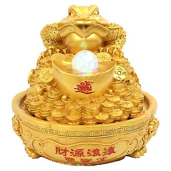 Pozłacane Gold Frog Original Design Meble Materiały do usuwania wirusa Nowej Korony