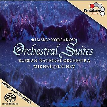 N. Rimsky-Korsakov - Rimsky-Korsakov: Orchestral Suites [SACD] USA import