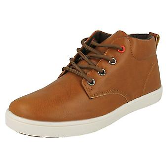 Boys JCDees Casual Lace Up Shoes N2036