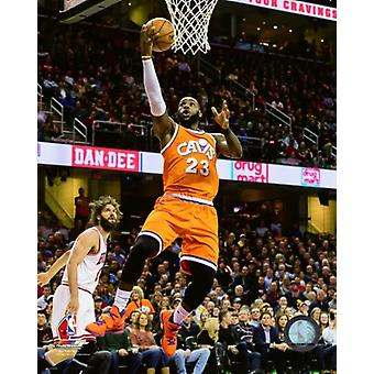 LeBron James 2016-17 Action Photo Print
