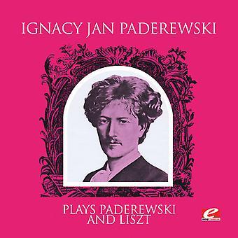 Ignacy Jan Paderewski - juegos Paderewski y Liszt [CD] USA de importación