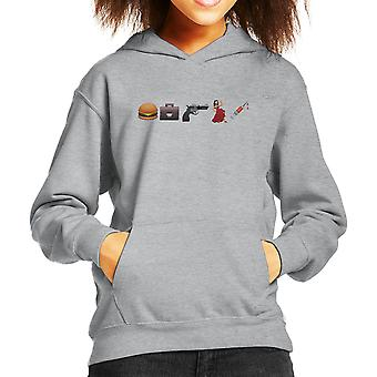 Emoji Pulp Fiction Kid de Hooded Sweatshirt
