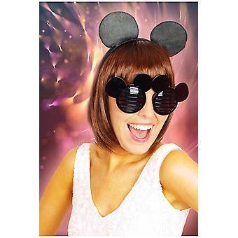 Glazen Mickey bril