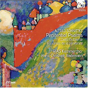 Schnittke, a. / Rias Kammerchor / Rademann, Hans - Penitential Psalms - Zwolf Bubverse Drei Geistlich [CD] USA import