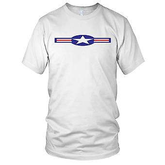 USAF Roundel schone Effect Mens T Shirt
