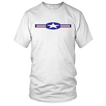 USAF Roundel reinigen Effekt-Herren-T-Shirt