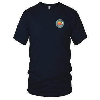 ARVN Special Forces technische Directoraat - grens Ghosts - Vietnamoorlog geborduurd Patch - Mens T Shirt