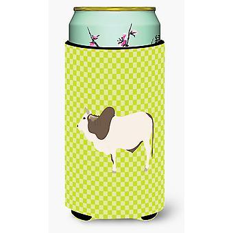 Malvi Cow Green Tall Boy Beverage Insulator Hugger